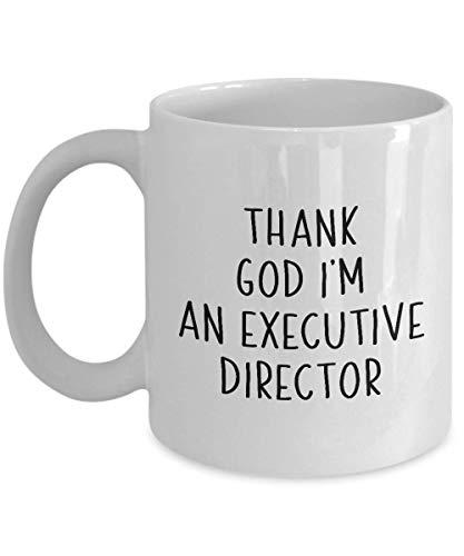 Executive Director Coffee Mug Gift Funny Saying Office