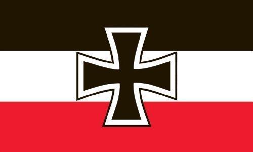 Import Allemagne Bleu marine Jack Ensign Guerre mondiale 3 'x2'Flag