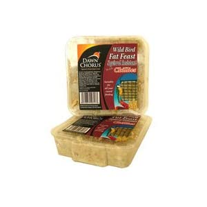 24 Dawn Chorus Squirrel Resistant Fat Feast For Wild Birds (12 pack x 2)