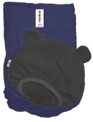 Manduca Winter - Cobertor para portabebés, color azul y negro