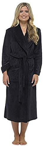 - 31eaDCYTLUL - CityComfort® Luxury Dressing Gown Soft Plush Bath Robe Housecoat Waterfall Lounge Style Bathrobe