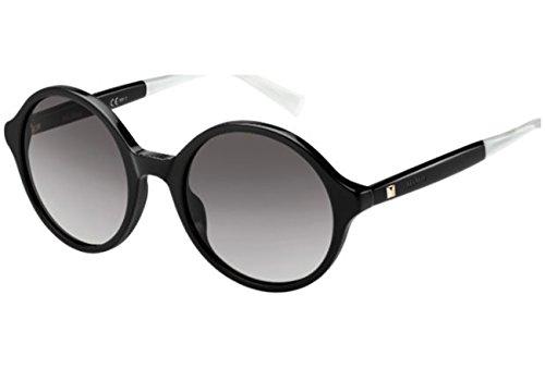 Max Mara Damen MM LIGHT IV EU 807 52 Sonnenbrille, Schwarz (Black/Grey Sf),