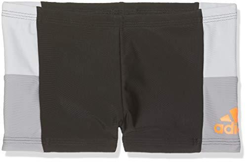 adidas Jungen Infinitex Colorblock Boxer, Black/Grey Two, 176