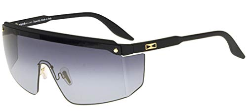 Snob Milano Sonnenbrillen GIANNI SN 27 MATTE BLACK/GREY SHADED Unisex