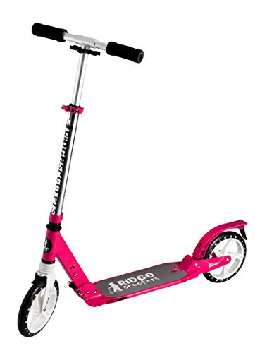 Ridge Groß Rad Dual Suspension Roller Scooter, Rosa, 200 mm