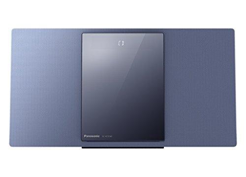 Panasonic SC-HC1040EGA HiFi System (40W RMS, CD, Radio, DAB+, USB, Bluetooth, WLAN) Blau