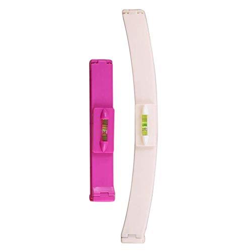 Haarschneidewerkzeug, Webla, 1 Paar Haarschneidewerkzeuge Mit Pony-Besatz Und Haarspange Damenclip, Rosa Kunststoff (Rosa)
