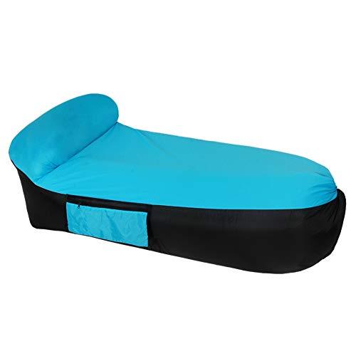 Forart Aufblasbare Liege Tragbare Hängematte Air Sofa und Camping Stuhl mit Wasserdicht & Anti-Air Undicht Design