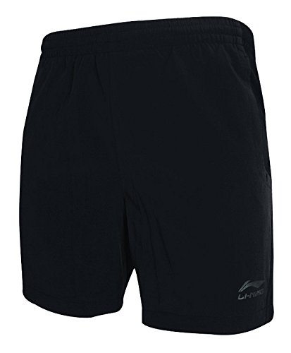 li-ning-tournament-sechage-rapide-short-de-badminton-xxl-noir