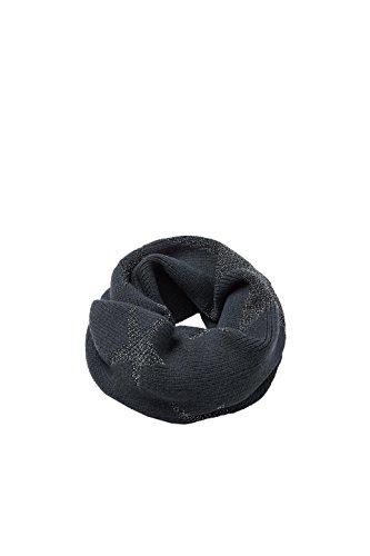 ESPRIT edc by Accessoires Damen 117CA1Q006 Schal, Grau (Anthracite 010), One Size
