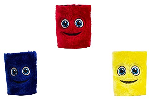 The Crazy Me Red,Navy Blue and Yellow Bottle Koozie