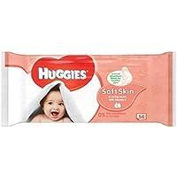 Huggies Baby Wipes Soft Skin Singles 56 by Huggies