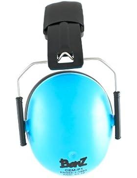 BANZ KIDZ EAR DEFENDERS, Protector acustico con almohadillas para niños de 2 años en adelante.
