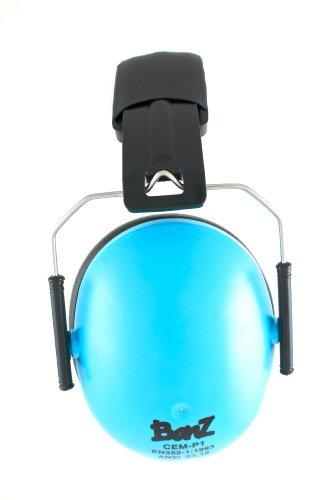 Preisvergleich Produktbild Babybanz GKB008 Kindergehörschutz, 2-12 Jahre mit extra weichem Kopfbügel, faltbar, aqua