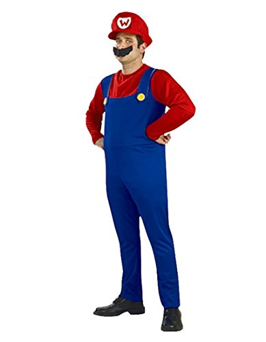 Imagen de rubber johnnies  disfraz de luigi de mario bros para adulto alternativa