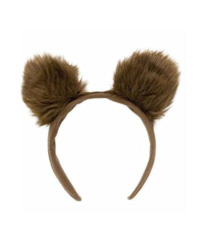 nohren Haarreif (Braune Ohren Kostüm)