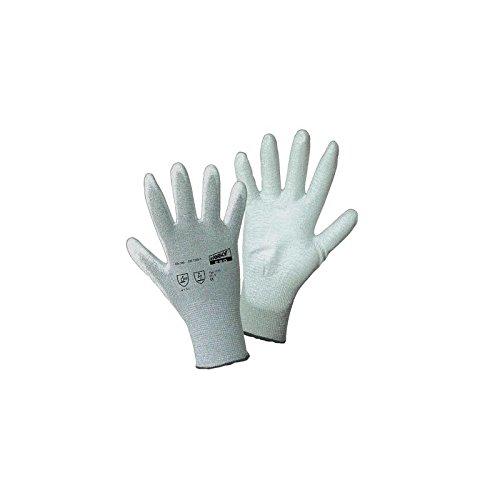 Worky L+D ESD Nylon/Carbon-PU 1171 Nylon Arbeitshandschuh Größe (Handschuhe): 8, M EN 388, EN 114