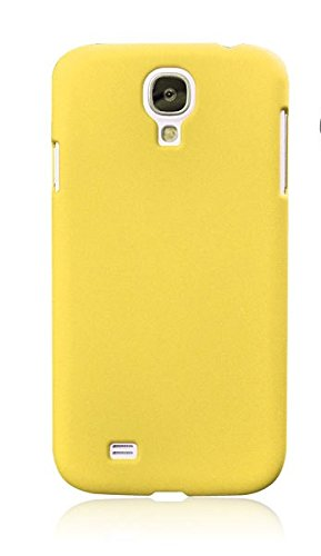 WOW Imagine Rubberised Matte Hard Case Back Cover For SAMSUNG GALAXY S4 I9500 (Sunshine Yellow)