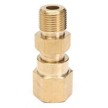 Druckscheibe Swivel Messing Schlauchkupplung 3/8 Zoll Gewinde Adapter (Thread-swivel)