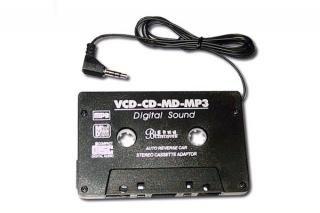 NEUTRE Adaptateur voiture Cassette pour lecteur MP3/CD