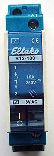 1393761 16/A 8/V AC 1/ö R12 1s 8/V 110 Eltako Installation Relais