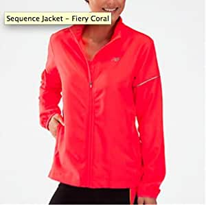 New Balance Women's Sequence Jacket - Pink, X-Large