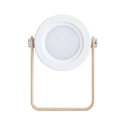 Linterna Creativa Luz 3D Esposas Telescópicas Plegables Luces De La Noche Atenuación Sin Atenuación Tercer Equipo Luz De Escritorio Usb Blanco
