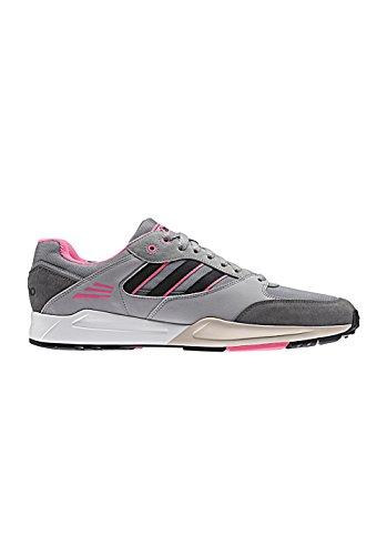 Adidas - Tech Super, Sneakers, unisex ch solid grey / core black / semi solar pink