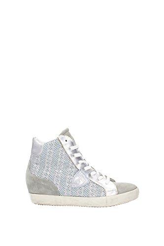 PFHDGP07 Philippe Model Sneakers Damen Glitter Silber Silber