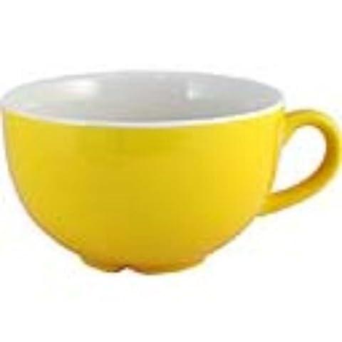 Steelite v3792Carnaval Tournesol Empire Basse Cups, 227,5ml, jaune (Lot de 36)