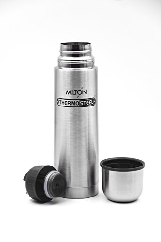 Milton Thermosteel Flip Lid Flask, 1000ml, Silver (EC-TMS-FIS-0058_Silver)
