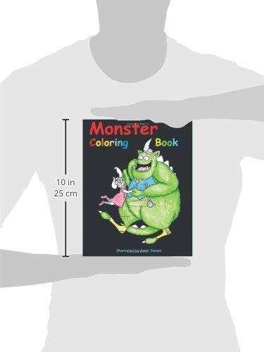 Monster Coloring Book: Monster Coloring Book