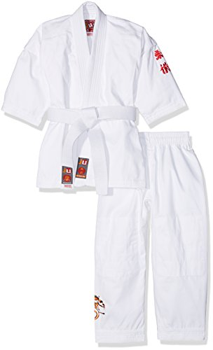 Ju-Sports Kinder Anzug to Start Kids, weiß, 150 cm