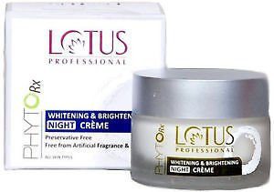 Lotus Professional Phyto Rx Whitening And Brightening Night Cream, 50g