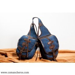 comancheros-bisacce d'équitation, Petite Besace cheval en jeans