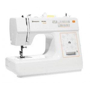 E10 Husqvarna Viking - Máquina de coser, color blanco