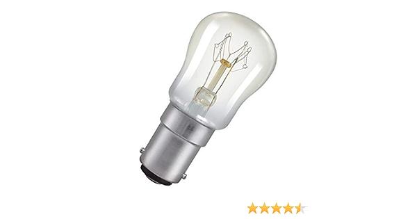 15 W B15d B15 Clear White Eveready 5X 15W Pygmy Bulb Appliance Lamp SBC