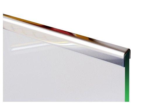 1 Einfassprofile U-Profil 1,0mm axb=12mm c=10mm (innen8mm) L= 2000 mm Edelstahl glänzend Spiegeloptik 1.4301