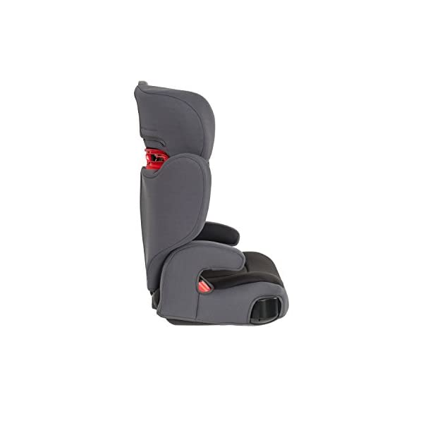 Graco Assure Group 2/3 Car Seat - Aluminium Graco Side impact protection for head, lower back and hips Five position height adjustable headrest and padded armrests for extra comfort Lightweight and easy to transfer from car to car 3