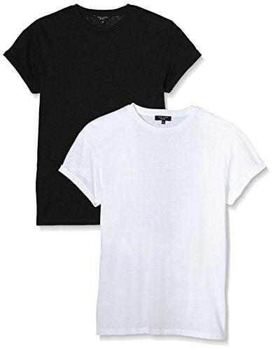 New Look Herren T-Shirt Schwarz - Schwarz