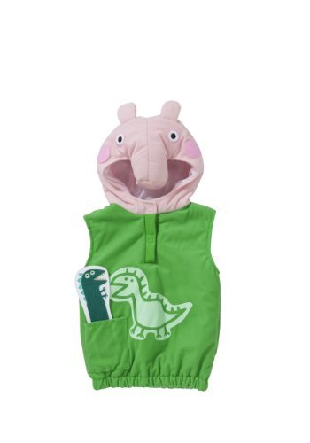 Peppa Pig George Costume Age 2-4 Years by -