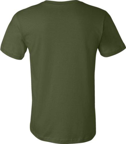 LLJY Unisex Jersey Short Sleeve Tee Olive