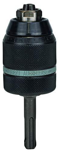 Bosch Professional Schnellspannbohrfutter (2 Hülsen, Spannbereich 1,5 - 13 mm, Aufnahme sds-plus, Rechts- und Linkslauf, Zubehör Bohrmaschine)