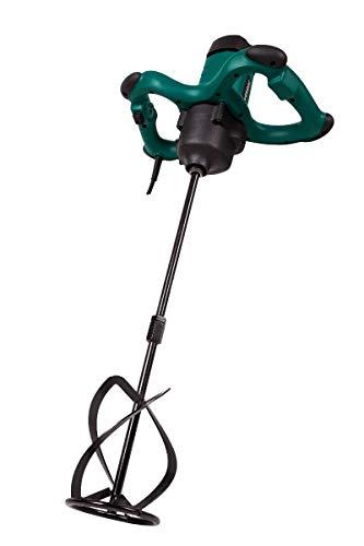 VONROC Farb-/Zementmischer 1800 W - 2 Beschleunigungsstufen - Soft Start - Konstant-Elektronik - 3 m Gummikabel - inkl. Mischwerkzeug 140 x 600 mm