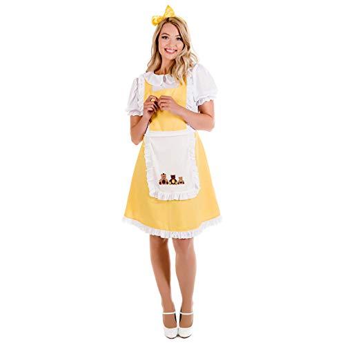 Goldilocks Kostüm - Fun Shack Damen Costume Kostüm, Goldilocks, m