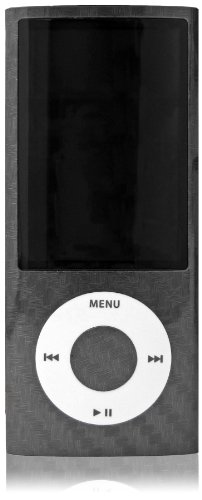 Apple iPOD Nano 5G - 2 Skins, Farbe: Carbon Ipod Nano Silicon Cover