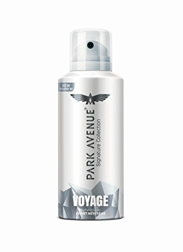 Park Avenue Voyage Signature Deo for Men, 130ml/140ml (Weight May Vary)