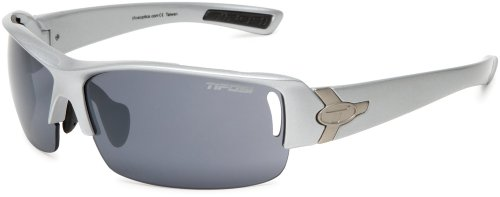 TIFOSI SLOPE Metallic Silver T-I990 Wechselglas Sport Sonnen Brille Sun Glasses