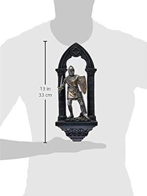 Design Toscano CL55951 3-Dimensional Knights of the Realm Sir Samuel Wall Sculpture