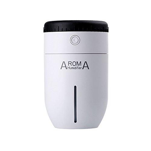 Preisvergleich Produktbild SODIAL Lens Aroma Luftbefeuchter Objektiv aetherisches oel Diffusor Luftbefeuchter Nachtlampe - Weiss